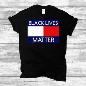 Black Lives Matter Black Tshirt